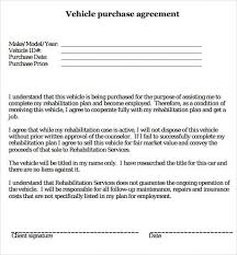 Vehicle sales agreements, like general purpose sales agreements, in the united states are generally subject to both federal law and specific how to modify the template. 10 Free Car Purchase Agreement Templates Word Excel Samples
