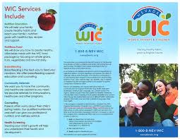 Healthcare Brochure Unique WIC Family Resource Centers Of Northeastern Nevada