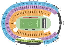 La Coliseum Seating Chart Soccer Los Angeles Memorial Coliseum Tickets And Los Angeles