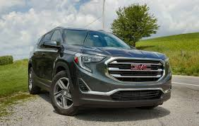 2018 gmc suv. interesting gmc 2018 gmc terrain first drive small suv big ambition in gmc suv