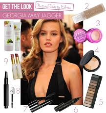 get the look georgia may jagger makeup tutorial for flawless natural radiance featuring luk
