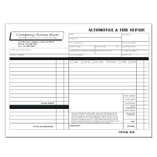 Service Invoice Template Excel Amazing Car Service Invoice Template Of Auto Repair Software Free Download