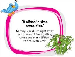 proverb a stitch in time saves nine meaning google search  stitch in time saves nine essay 5 college application topics about stitch in time saves nine essay