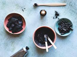 diy charcoal mask recipes how to apply