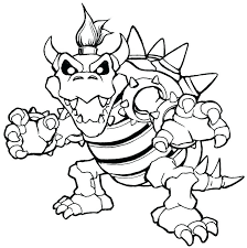 Coloring Pages Super Mario Brothers Printable Super Brothers