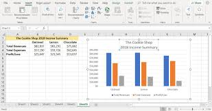 How To Create A Bar Chart In Excel 2003 How To Create A Column Chart In Excel