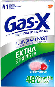 Gas-X® Extra Strength Chewables | Gas-X® Gas Relief