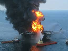 Взрыв нефтяной платформы deepwater horizon Википедия deepwater horizon offshore drilling unit on fire 2010 jpg