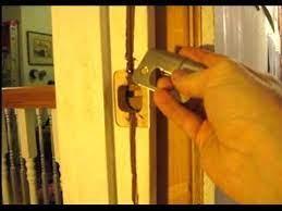 how to repair a door jamb you