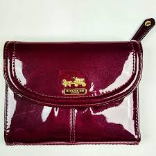 COACH Madison Patent Leather Wallet 46729