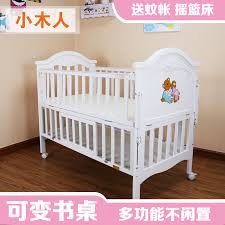 wooden people multifunction wood crib baby bed baby cradle bed shaker new born child bed bed