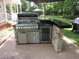 attractive how to build an outdoor kitchen wit 56873 garden decor