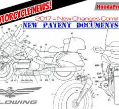 2018 honda goldwing motorcycle. Beautiful 2018 New 2018 Honda Gold Wing Patents Show HUGE Changes In The Worksu2026 With Honda Goldwing Motorcycle C