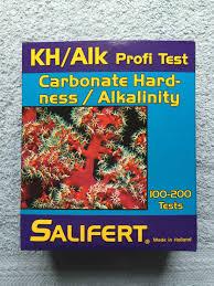 Salifert Alkalinity Test Kit Review Reef In A Box