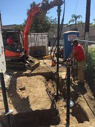 ram jack foundation. Perfect Ram Installing Ram Jack Helical Piles With Foundation S