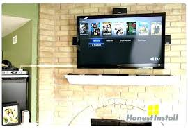 stunning images how to hide cords on wall mounted cable tv