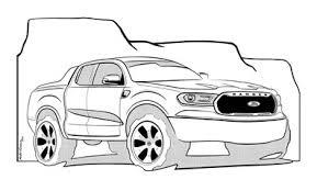 Clean up on front loaders, side loaders, rear loader trash truck. Ford For Kids Activity Book