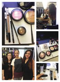 and i got a treat odessa who is also a great makeup artist by the way gave me a makeup tutorial makeover which i loved appaly all mac branches