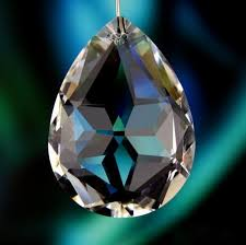 15pcs lot 50mm glass hanging prism pendants crystal chandelier drop parts for home decoration wedding decoration