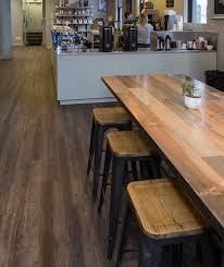 bard coffee retail floor refresh vinyl plank 2