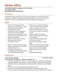support manager resumes best client support manager resumes resumehelp