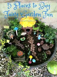 5 places to fairy garden fun