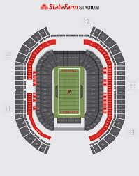 Cardinals Stadium Seating Chart Arizona Steelers Vs Cardinals State Farm Stadium