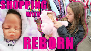 Shopping for <b>Reborn Baby Doll</b> Clothes Sophia Gets a New Outfit ...