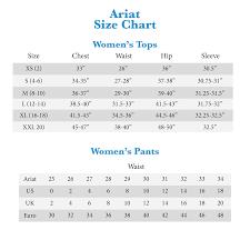 Ariat Women S Jeans Size Chart Ariat Women U S Jeans Sizing Chart Www Prosvsgijoes Org
