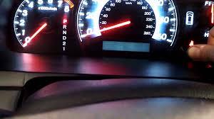 oil life reset procedure honda odyssey 2005 2010 3 5l turn off light pilot fit element accord you