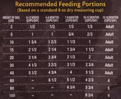 Wellness Core Puppy Feeding Chart Merrick Grain Free Puppy Food Feeding Chart Foodstutorial Org