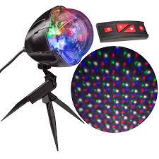 As Seen On Tv Led Lightshow Points Of Light Christmas Lightshow Points Of Light Projector With Remote 114 Programs Walmart Com