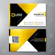 Card Design Template Modern Business Card Design Template Vector Illustration