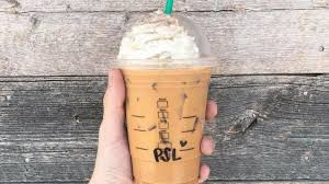 the pumpkin e latte at starbucks is