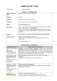 Resume Template Normal Resume Format Download Sample Resume Template ...