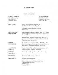 7 Resume Format For Teacher Job Forklift Templates J Saneme