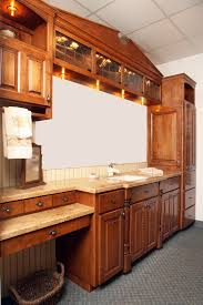 Red Birch Cabinets Kitchen Affordable Custom Cabinets Showroom