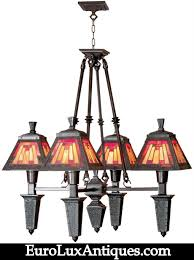 dale tiffany chandelier lighting mission style