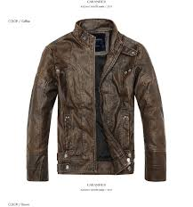 caranfier winter mens leather jackets pu classic motorcycle biker cowboy jacket male plus velvet thick warm coats top quality d19011001