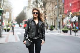 clochet streetstyle outfit mango premium leather jacket levis leggings h m spring