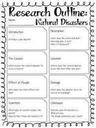 report outline natural disasters natural disasters paragraph report outline natural disasters