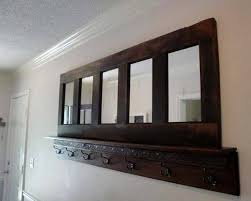 Door Picture Frame Coat Rack 100 Ways to Reuse and Recycle Wood Doors for Shelving Units Racks 26