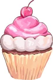 Free Pink Cupcake Clip Art Printables Commercial Use Cupcake Png