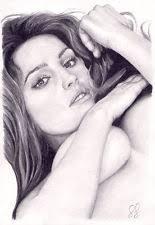 NouveauOriginal Art. Kelly Brook. Nude. By <b>Simon Field</b>. - mF1B1dWnd5ANssKKVWffdKg