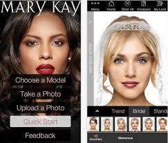 mary kay makeover app