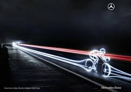 Intelligent Light System Adeevee Only Selected Creativity Mercedes Benz Schweiz