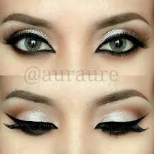 prom makeup for black and white dress google search dramatic eye