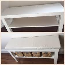 foyer furniture ikea. Turn A £7 LACK TV Unit Into Hallway Bench Foyer Furniture Ikea U