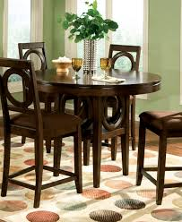ideas of round counter height dining set with leaf 4670x334 px attractive high dining sets