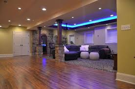 Small finished basement ideas danielmetcalfco Classy Small Basement Design Ideas